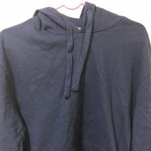 NEW Men's navy blue hoodie